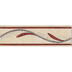 Zalakerámia Zaragoza SZ-105 dekorcsík 25 x 7,5 cm